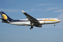 Airbus A330 der Jet Airways