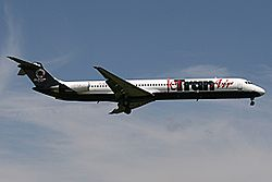 MD-82 der Jer Tran Air