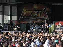 Axxis 2007 auf dem Masters of Rock in Vizovice (Tschechien)