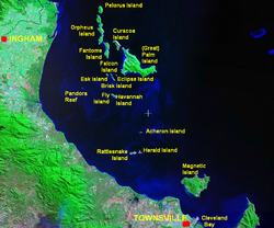 Magnetic Island und die Gruppe der Great Palm Islands