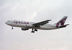 Airbus A300-600R in der Frachtversion von Qatar Airways