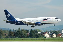 Slovak Airlines Boeing 737-300