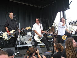 Adolescents auf der Warped Tour 2007