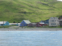 Dutch Harbor auf Amaknak Island