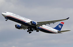Airbus A330-300 der US Airways