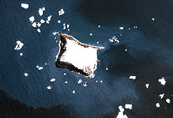 NASA-Bild von Vindication Island