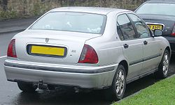 Second-generation Rover 400