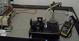 Интерферометр Майкельсона. двухлучевой интерферометр, Данный прибор позволил впервые измерить длину волны света.