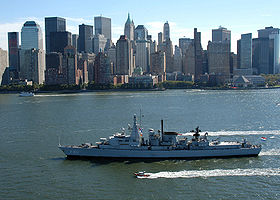 Hr. Ms. Jacob Van Heemskerck vor New York