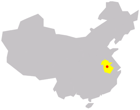Hefei in Anhui Province