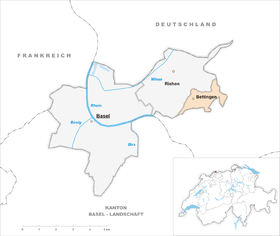 Karte von Bettingen