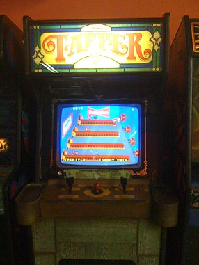 Tapper arcade cabinet - Bally Midway.jpg