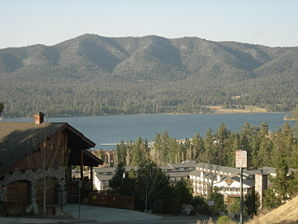 Big Bear Lake im April 2007