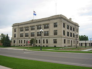 Crow Wing County Courthouse in Brainerd