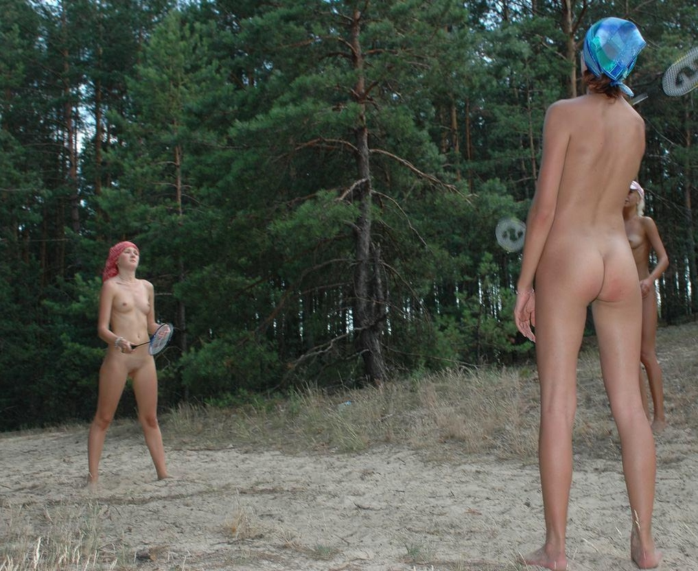 naked Nude girls playing sports
