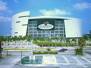 Die AmericanAirlines Arena in Miami