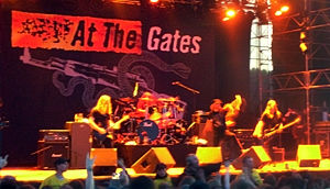 At the Gates am Sweden Rock 2008