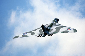 Eine Vulcan B.Mk 2 der Royal Air Force