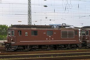 BLS Re 4/4 164 in Basel Bad. Bf. (22. August 2005)
