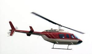 Bell 206L3 am Airport Weeze