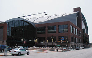 Das Conseco Fieldhouse in Indianapolis