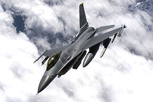 "F-16C ""Fighting Falcon"" der US-Airforce"
