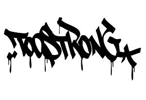 Too Strong Logo designed by ATOMone