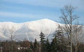 Mount Washington von Bretton Woods