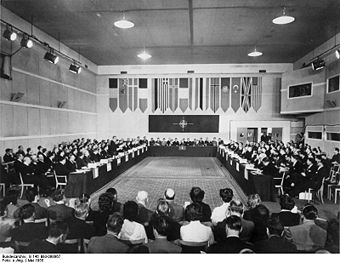 Konferenz in Paris, Mai 1955