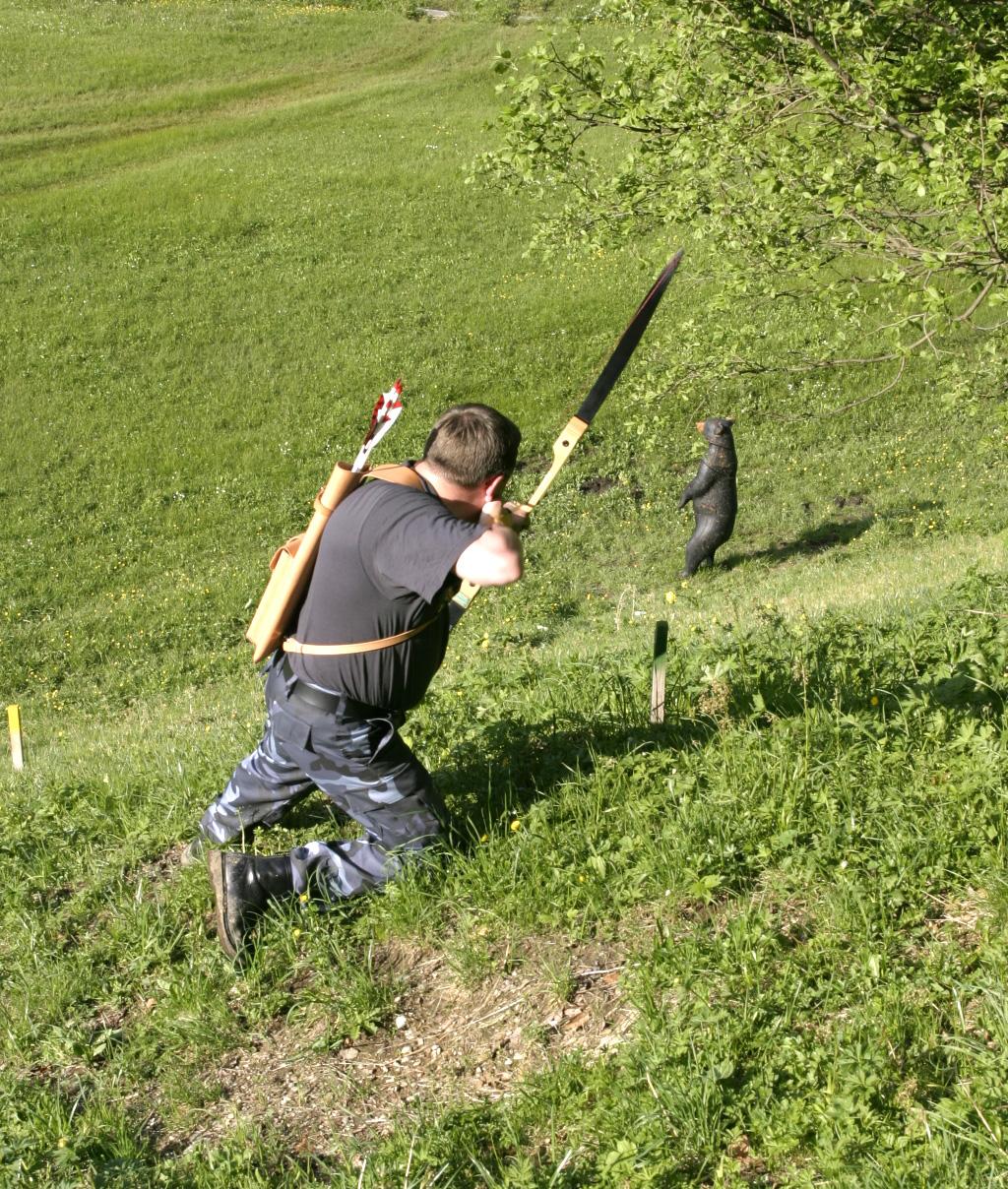Как сделать стрелу для лука 86