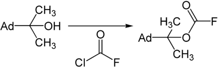 Synthese des ADPOC-Fluorids.