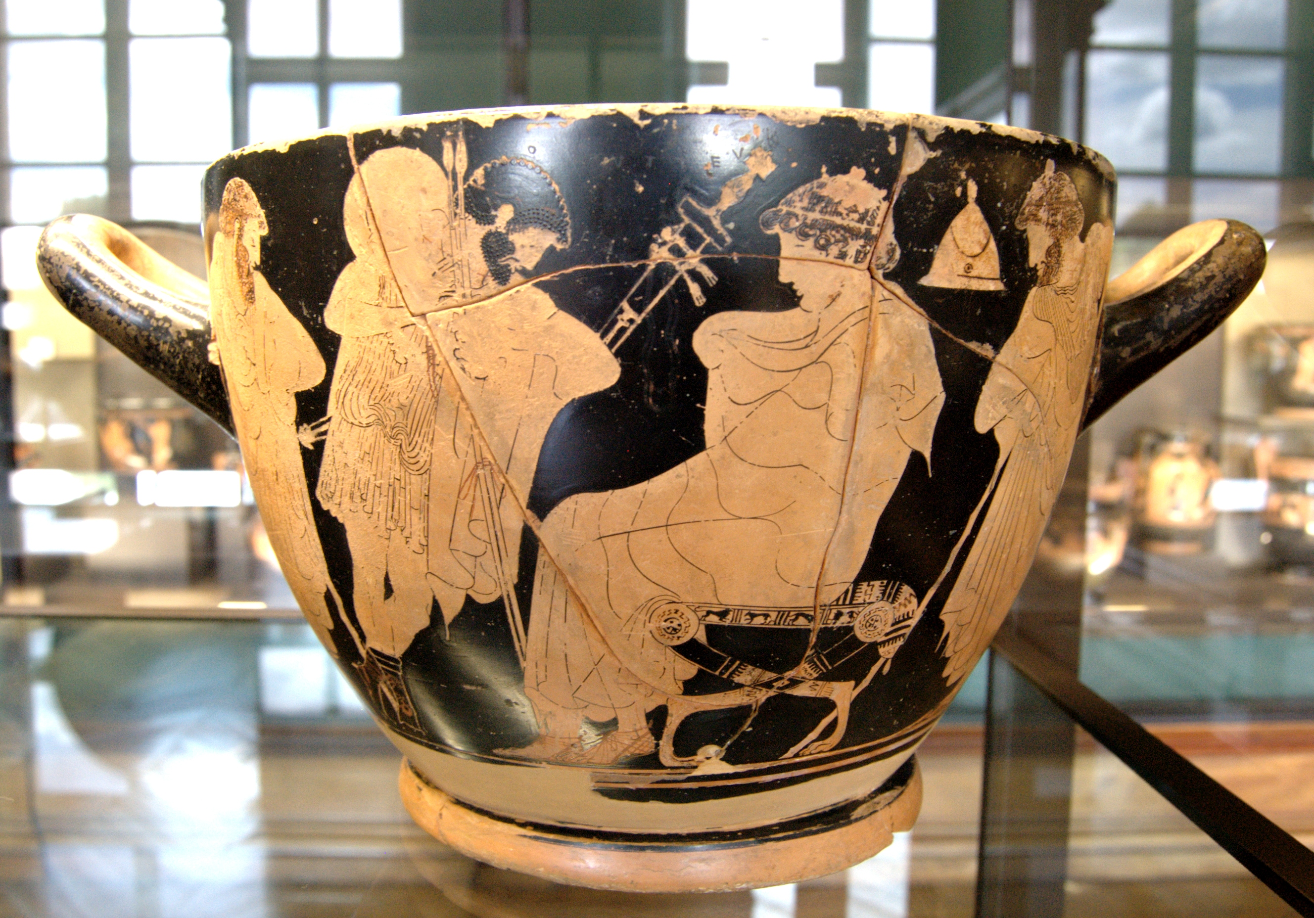 achilles and the embassy book ix Book ix it looks as though achilles might have gotten his way, because as book ix opens, the greeks are in a panic agamemnon steps forward and addresses.