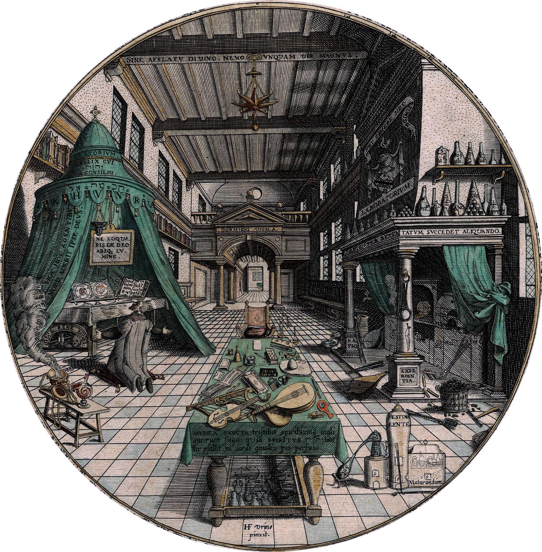 http://de.academic.ru/pictures/dewiki/65/Alchemist%27s_Laboratory%2C_Heinrich_Khunrath%2C_Amphitheatrum_sapientiae_aeternae%2C_1595.jpg