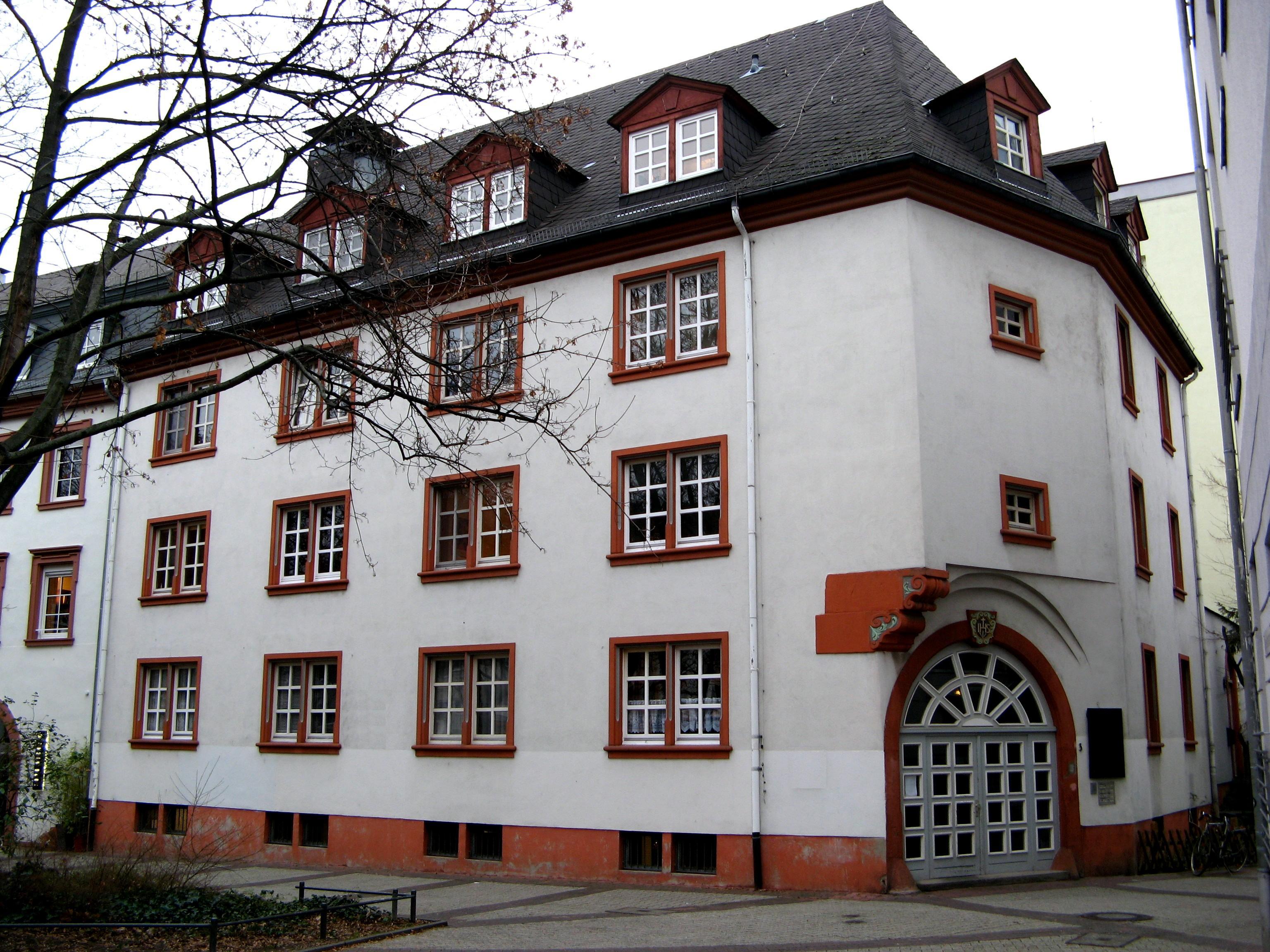 Liste der kulturdenkm ler in mainz altstadt for Johannes hof
