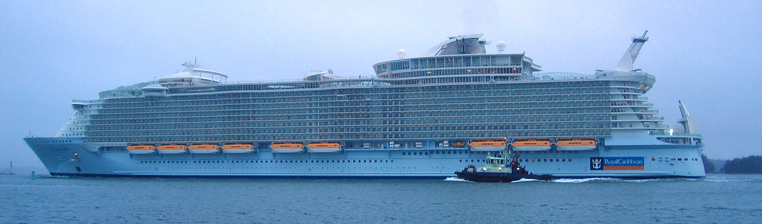 Cost To Build Allure Of The Seas