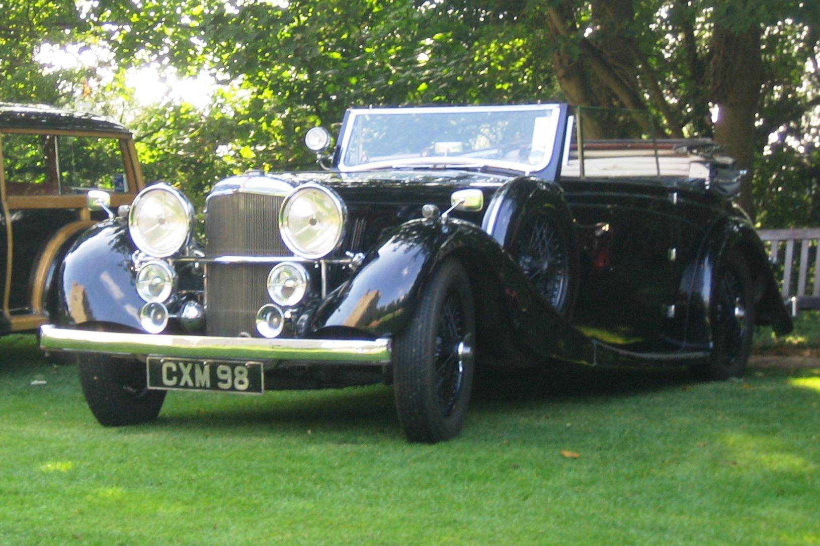 Alvis 3½ litre Cabrio (1935)