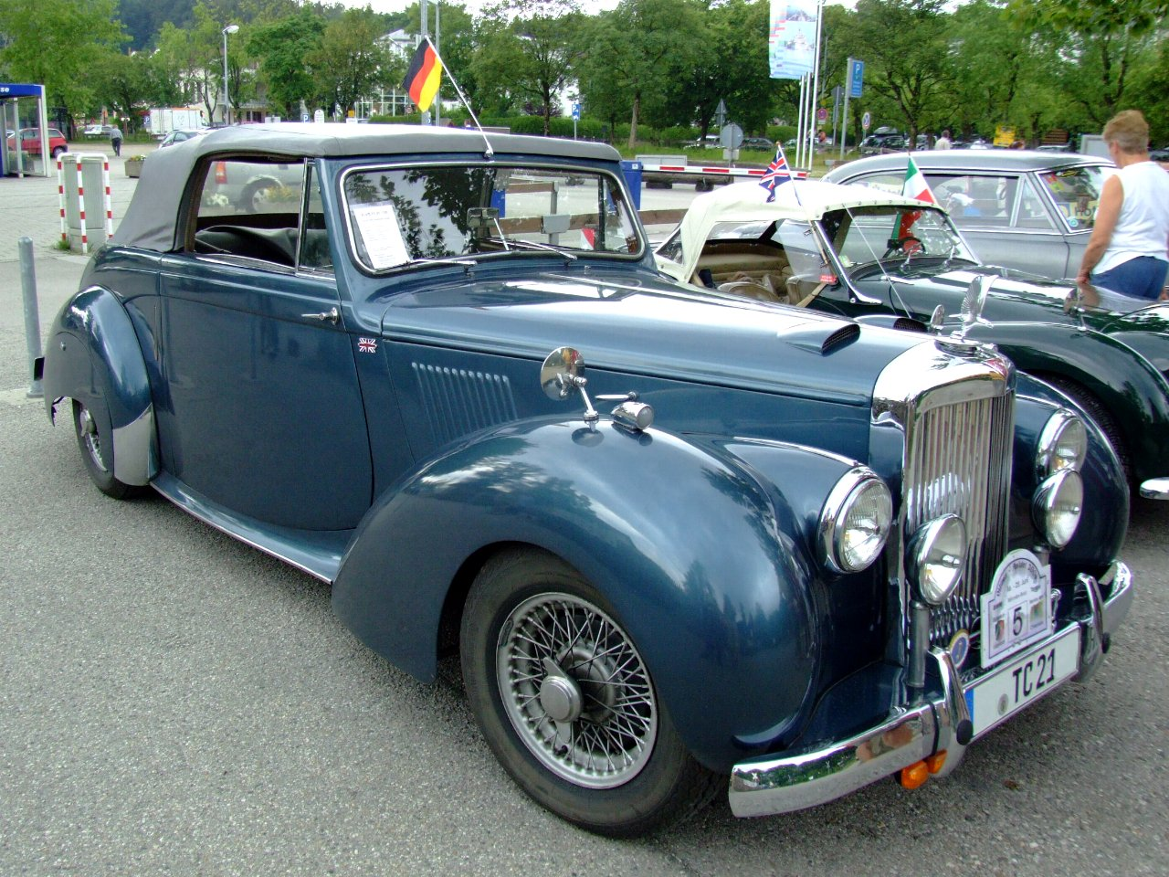Alvis TC 21/100 Drophead Coupe
