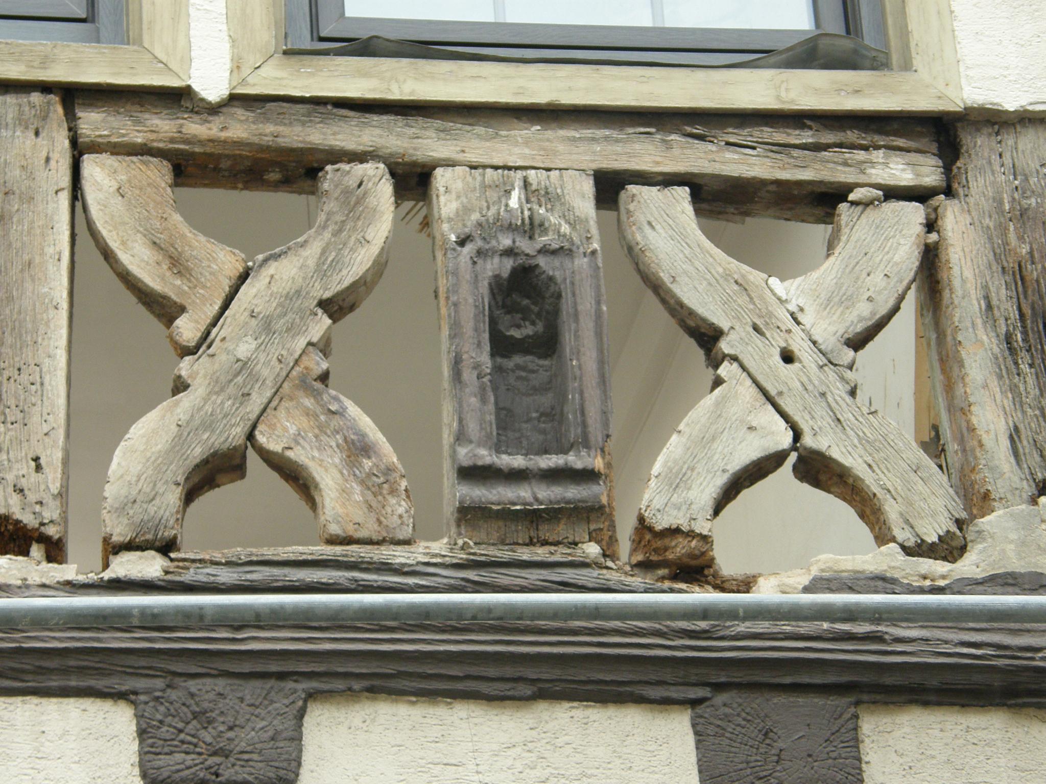 Fachwerkhaus for Holzbalken fachwerk