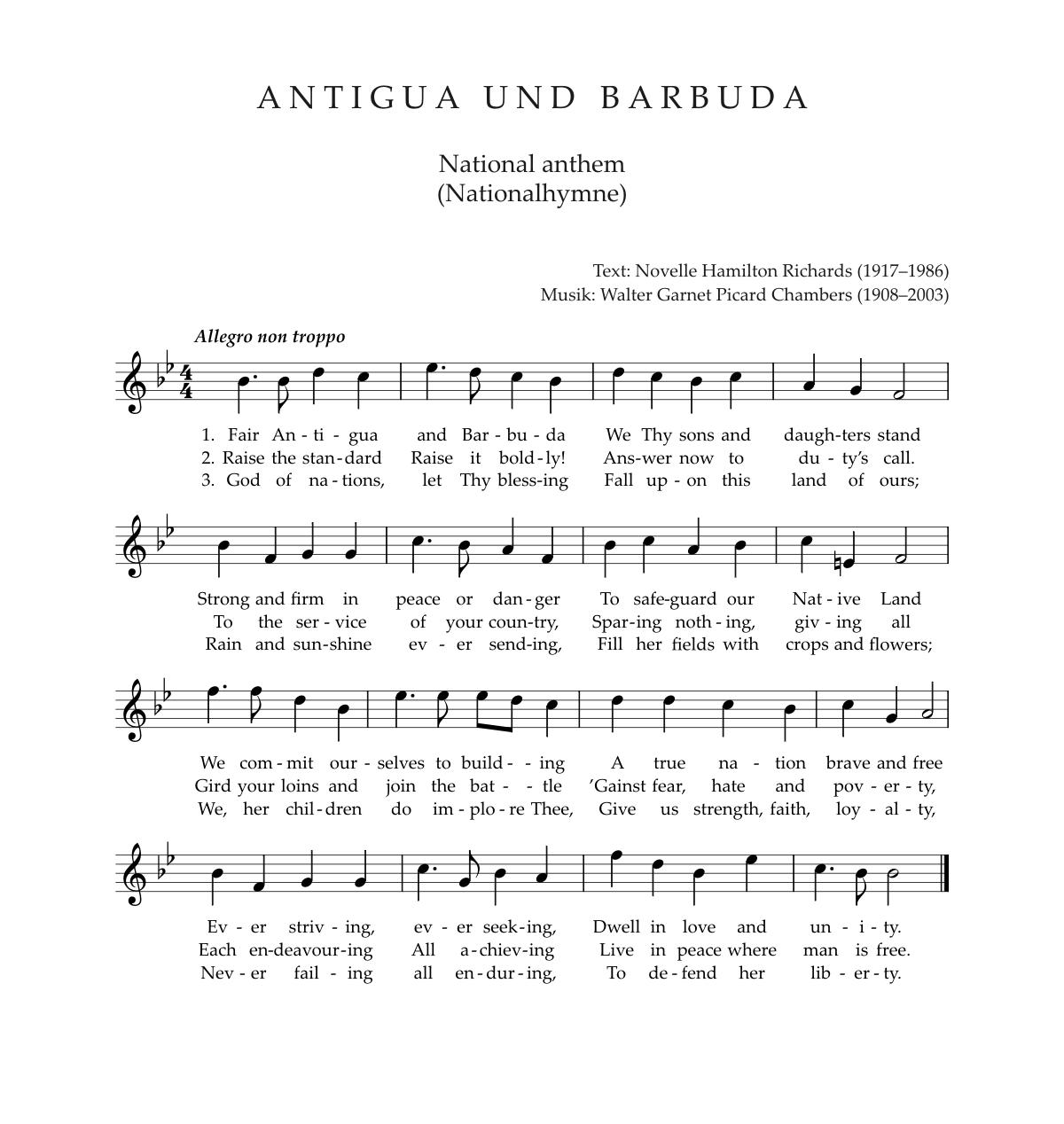 Nationalhymne Island Text
