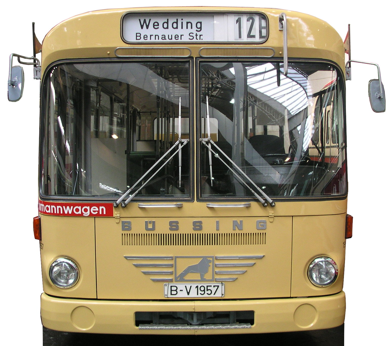 Standard bus for Ikarus frankfurt