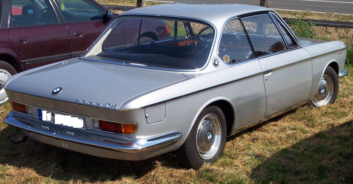 1965 Bmw 2000 Cs. 2000 CS