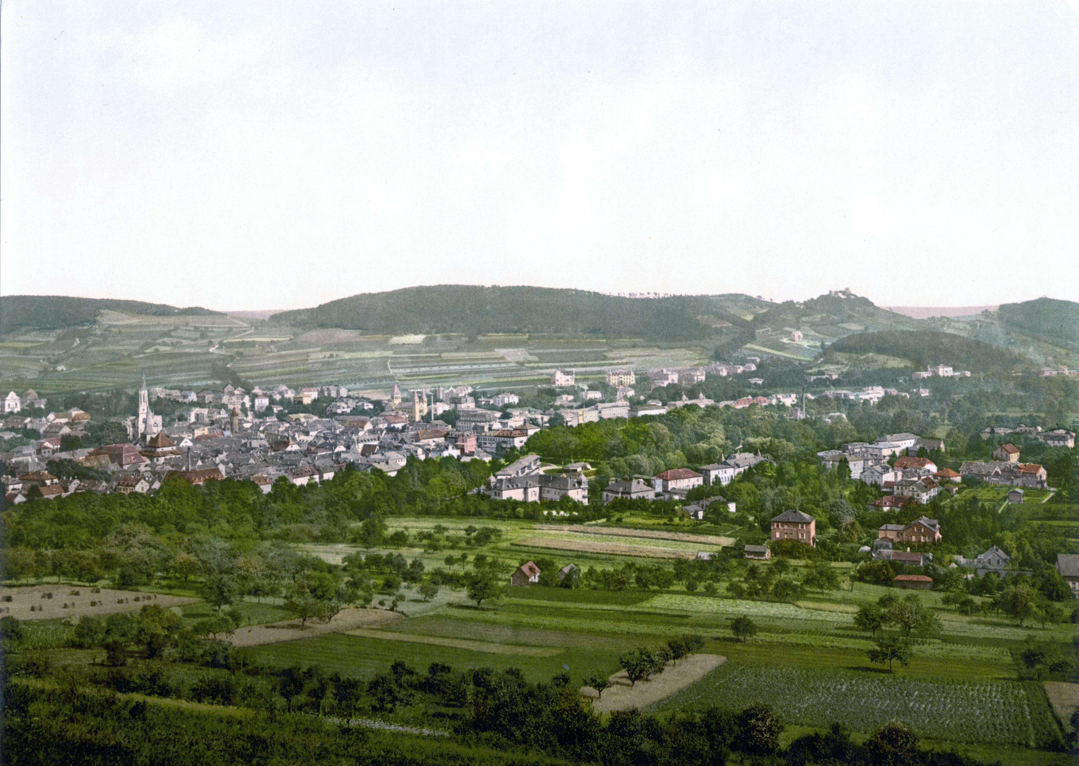 Bad Kissingen Germany  City pictures : Bad Kissingen um 1900
