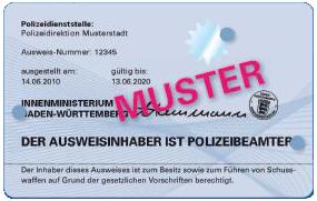 Polizeidienstausweis Nrw