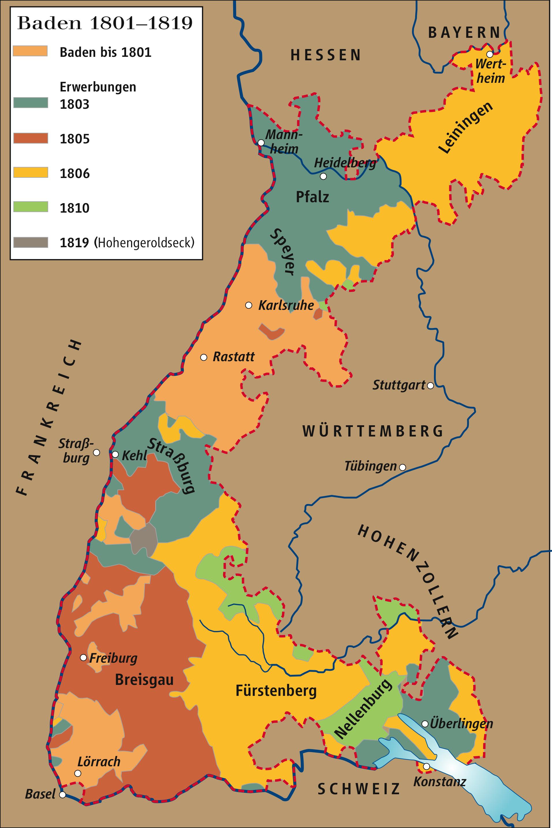 Grenze Baden