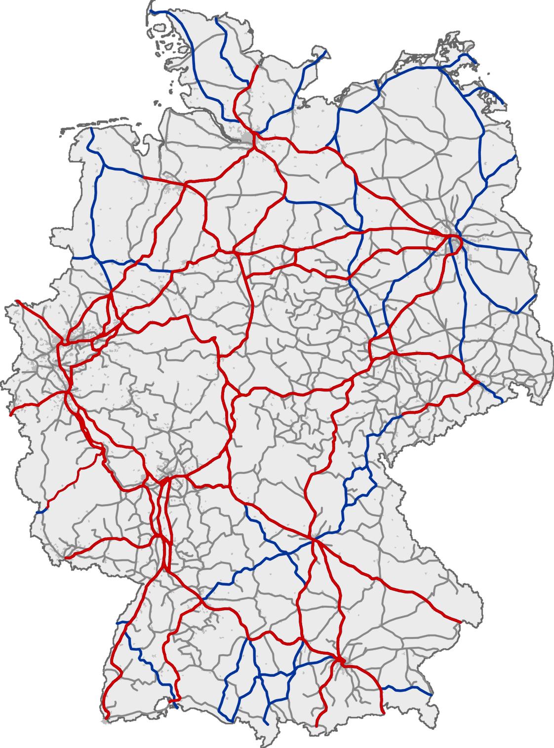 Nrw Schienennetz