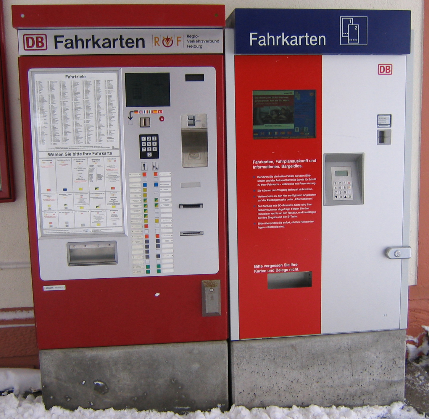 ticketautomat db
