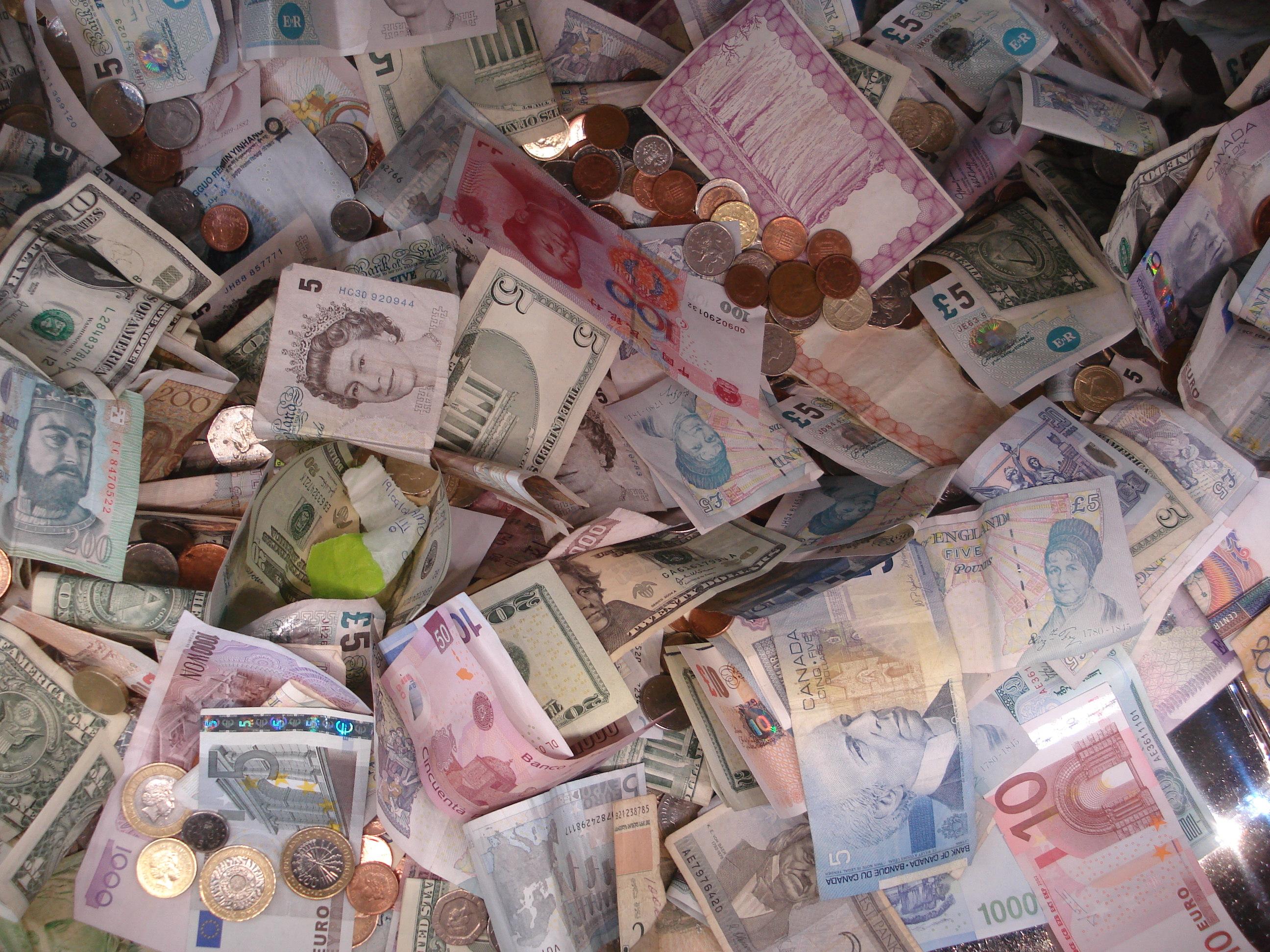 money übersetzung