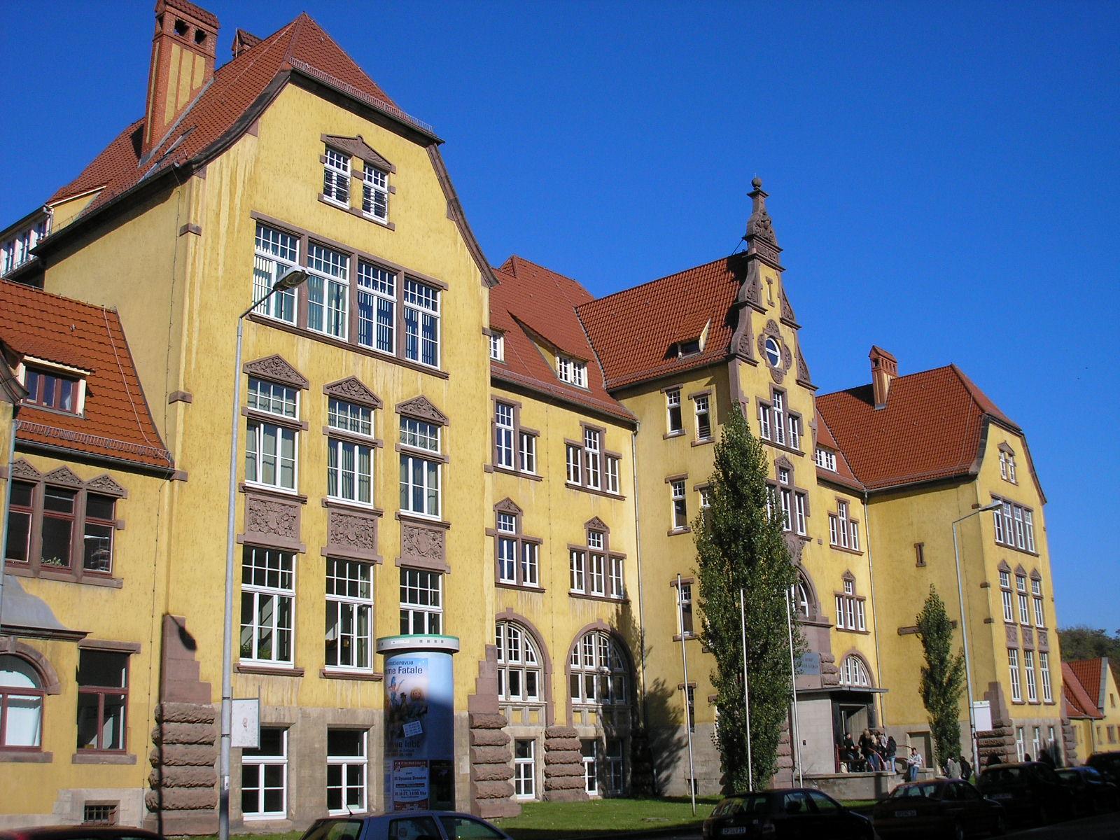 Andreasvorstadt for Fachhochschule architektur