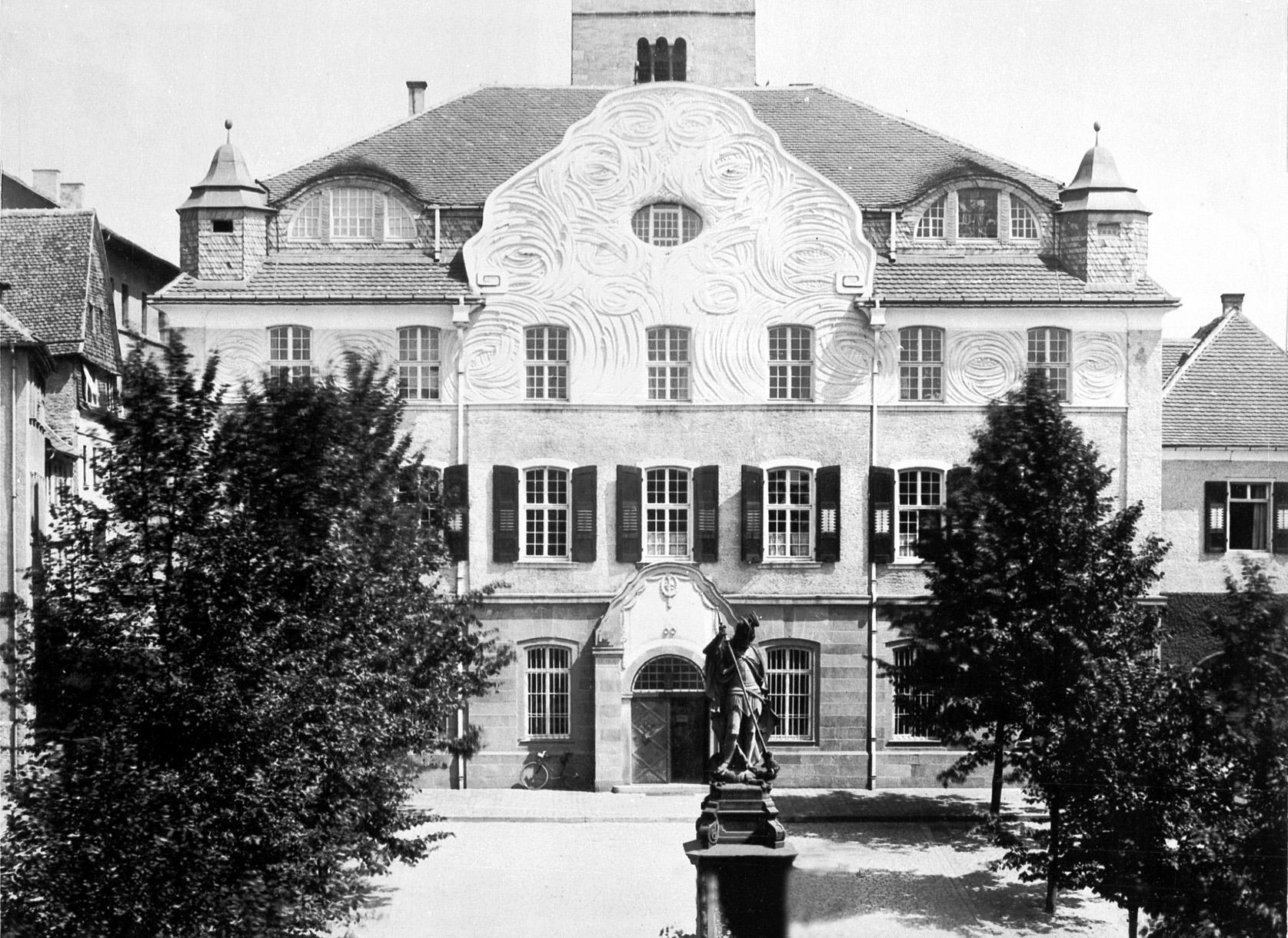 Architekt Bensheim heinrich metzendorf