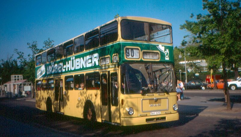 BVG buses SD200 and SD 202 Berlin-MAN-SD200-Bus3210